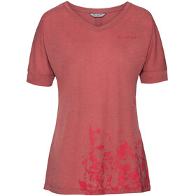 VAUDE Skomer V-Neck Shirt Women wild carrot